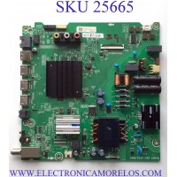 MAIN FUENTE PARA TV HISENSE NUMERO DE PARTE 280868 / RSAG7.820.9221/ROH / 3TE58J21043L / TM214C52FU / J21042E / 280867 / HU58A6109FUWR(1000) / PANEL  HD580X1U91-L1/S1/GM/ROH / MODELO 58R6E3