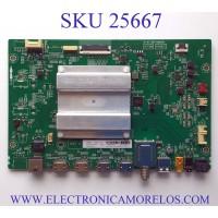 MAIN PARA TV TCL / NUMERO DE PARTE  V8-RT73K01-LF1V1679-V9 / 40-RT73H2-MAB2HG / RT73H2 / RTD2873 / Z2C10201000005 / GMB000062A / 10852988MA2362 / V8-RT73K01-LF1V1679 / MODELO 55S535