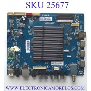 MAIN PARA TV WESTINGHOUSE SMART TV / NUMERO DE PARTE 103100048 / CV838H-B / W18037-SY / CV838H_B_11_170818 / 7.D838HB110000.0E0 / E254667 S / H2E03104A0 / MODELO WG43UX4100