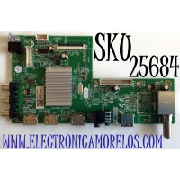 MAIN PARA JVC 4K UHD RESOLUCION (3840 x 2160) SMART TV / NUMERO DE PARTE 1010423007 / 2E0184680 / KB6160A / M58/2010068820/17 / 20200814 / PANEL V500DJ7-QE1 / MODELO LT-50MAW500