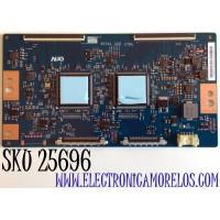 T-CON PARA TV SONY / NUMERO DE PARTE 5555T41C09 / 55T41 C05 CTRL / 55.55T41.C09 / PANEL YDAF055DNU01 / MODELO XBR-55X950H / XBR55X950H