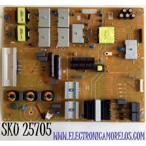 FUENTE DE PODER PARA TV PHILIPS ANDROID 4K UHD CON HDR RESOLUCION (3840 x 2160) SMART TV / NUMERO DE PARTE AD797MPWT / BACG9AF01 02 1 / BACG9AF01021 / BACG9AF0102 1 / PANEL BOEI750WQ1-F9D / MODELO 75PFL5604/F7 / 75PFL5604/F7 A