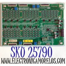 LED DRIVER PARA TV SAMSUNG QLED 8K UHD HDR SMART TV / NUMERO DE PARTE BN44-01047C / BN4401047C / L75SQ9NC_THS / PANEL CY-TT075JLAV6H / MODELO QN75Q900 / QN75Q900TSFXZA / QN75Q900TSFXZA AD04