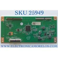 T-CON PARA TV ONN·ROKU TV 4K UHD HDR SMART TV (50) / NUMERO DE PARTE CC495_CC575PU1L01_I12 / 2E01893A0 / 18134210034 / KB6160A / CC575PU1L01 / CC495_CC575PU1L01_I12 V2.2 / E503744 / PANEL CC500PV4D / MODELO 100012585
