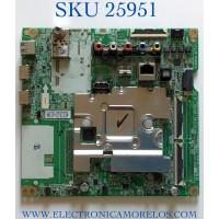 MAIN PARA TV LG 4K HDR SMART TV / NUMERO DE PARTE EBU65202201 / 65202201 / 88789306 / EAX68253605 / EBR88789306 / EAX68253605(1.1) / PANEL NC430DGG-ABGX1 / MODELO 43UM6910 / 43UM6910PUA / 43UM6910PUA.AUSGLJM