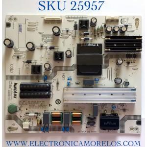 FUENTE DE PODER PARA TV VIZIO 4K QUANTUM UHD SMART TV / NUMERO DE PARTE P650D312DA / 25-DT0481-X2P1 / SHG6503B-247E / E56334 / CQC14134104969 / PANEL V650DJB-E03 REV.C1 / MODELO M65Q6-J09 / M65Q6-J09 LINIF8