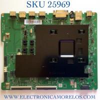MAIN PARA TV SAMSUNG BN94-14556A / BN41-02710A / BN97-15920A / PANEL CY-NR055HGLVYH / MODELO LH55QMREBGCXZA FA01