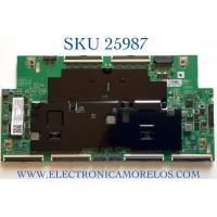 T-CON PARA TV SAMSUNG NUMERO DE PARTE BN95-06910A / BN41-02764A / BN97-17513A / MODELO QN75Q800TAFXZA