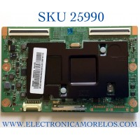 T-CON PARA TV SAMSUNG NUMERO DE PARTE BN96-28932A / BN41-01939C / BN97813 / PANEL CY-SF460DSLV5H / MODELO UN46F7100AFXZA TD01