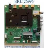 MAIN PARA TV INSIGNIA NUMERO DE PARTE XKCB02K081 / 715GA715-M01-B00-005G / PANEL TPT550WR-QUBF70.K REV:SDWP2K / MODELO NS-55F301NA22