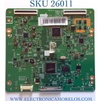 T-CON PARA TV SAMSUNG NUMERO DE PARTE BN95-00587A / BN41-01788A / BN97-06367A / PANEL LTJ550HJ08-V / MODELO UN55ES6150FXZA TS01
