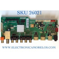 MAIN PARA TV RCA NUMERO DE PARTE FRE010C878LNA0-A1 / T.RSC8.78 / RE010C878LNA0 / E13050280-2A02722 / PANEL T315HW07-QYEV8 / MODELO LED32C45RQ