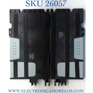 KIT DE BOCINAS PARA TV LG NUMERO DE PARTR EAB65628505 / EAB65628506 / PANEL AC550AQL / MODELO OLED55G1PUA.DUSPLJR / OLED55G1PUA