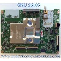 MAIN PARA TV LG NUMERO DE PARTE EBT66713402 / EAX69462206 / PANEL NC750TQG-ABKP1 / MODELO 75NAN075UPA.BUSFLKR / 75NAN075UPA