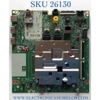 MAIN PARA TV LG NUMERO DE PARTE EBT66708401 / EAX69108605 / PANEL NC650DQH-ABHX1 / MODELOS 65UN9000AUJ.BUSFLKR / 65UN9000AUJ
