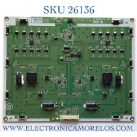 LED DRIVER PARA MONITOR LG NUMERO DE PARTE  6917L-0173B / KLS-D860RAMHF 40 B / PANEL LD860DBN-UJA1 / MODELO 86BH5C-B