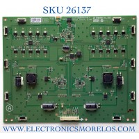 LED DRIVER PARA MONITOR LG NUMRO DE PARTE  6917L-0173A / KLS-D860RAMHF 40 B / PANEL LD860DBN-UJA1 / MODELO 86BH5C-B