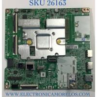 MAIN PARA TV LG NUMERO DE PARTE EBU66449102 / EAX69715101 / 1G1L01H2-0005 / XU16P6A0ME / PANEL NC500DQG-AAKX3 / MODELO 50UP7560AUD.BUSYLJM / 50UP7560AUD