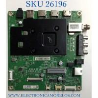 MAIN PARA TV INSIGNIA NUMERO DE PARTE XKCB02K094 / 715GA715-M01-B00-005G / (G)XKCB02K094000X / PANEL TPT550U1-QVN05.U REV:S57B1BC / MODELO NS-55F301NA22
