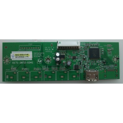 CONECTOR DE HDMI / VIZIO 3842-0092-0146 MODELO VP422HDTV10A