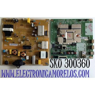KIT DE TARJETAS PARA TV LG 4K SMART TV / NUMERO DE PARTE MAIN EBU65841701 / EAX69083603 / 65841701 / FUENTE EAY65769221 / EAX69057001 / 65769221 / LGP50T-20U1 / PANEL NC500DQG-VXHX5 / MODELO 50UN7000PUC / 50UN7000PUC.AUSJLJM