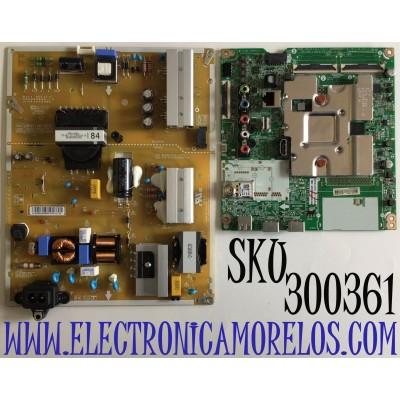 KIT DE TARJETAS PARA TV LG 4K SMART TV / NUMERO DE PARTE MAIN EBT66473202 / EAX69083603 / EAX69083603(1.0) / FUENTE EAY64928801 / EAX67805001 / PANEL NC650DQG-ABGXA / MODELO 65UN7300AUD / 65UN7300AUD.BUSFLKR