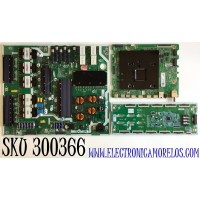 KIT PARA TV SAMSUNG QLED 4K SMART TV / NUMERO DE PARTE MAIN BN94-15362L / BN41-02749A / BN97-16919D / FUENTE BN44-01034A / BN4401034A / L65S9NA_TSM / T-CON BN44-01037A / BN4401037A / L65S9NC_TSM / PANEL CY-TT065FLLV5H / MODELO QN65Q90TAFXZA FB03