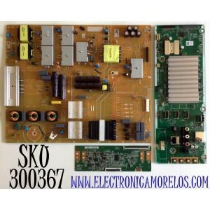 KIT DE TARJETAS PHILIPS 4K UHD ANDROID SMART TV / NUMERO DE PARTE MAIN AD793011 / AD796UB-75UB / BAC1R0G0201 1 / T-CON 44-9771618O / 47_6021363 / 44-97716180 / HV750QUBF9A / FUENTE AD793MPWT / BACG9AF0102 1 / AD793MPW T / PANEL BOEI750WQ1 / 75PFL5604/F7