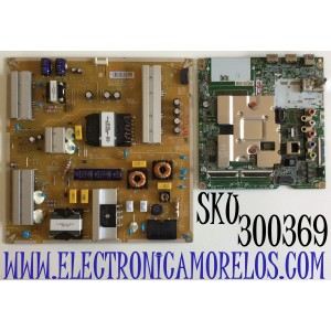 KIT DE TARJETAS PARA TV LG SMART 4K SMART TV / NUMERO DE PARTE MAIN EBT66488403 / EAX69083603 / FUENTE EAY65769201 / EAX69063801 / 65769201 / 3PCR02658A / LGP75-20UI / PANEL NC750DQG-ABGR1 / MODELOS 75UN6950ZUD / 75UN6950ZUD.BUSFLKR / 75UN6950ZUD.BUSFLOR