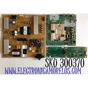 KIT DE TARJETAS PARA TV LG SMART TV / NUMERO DE PARTE MAIN EBT66527906 / EAX69083603 / T-CON RUNTK6396TPZG / RUNTK0418FV / FUENTE EAY65248602 / PANEL´S NC700DQE-VSHX7 / HC700DQN-VHXL7-21SX / MODELO 70UN6950ZUA / 70UN6950ZUA.BUSMLKR / 70UN6950ZUA.BUSMLJR