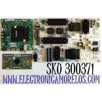 KIT DE TARJETAS PARA TV HISENSE·ROKU TV 4K SMART TV / NUMERO DE PARTE MAIN 264185 / RSAG7.820.9794/ROH / 264186 / T-CON 267064 / RSAG7.820.9959/ROH / FUENTE 267224 / RSAG7.820.9863/ROH / PANEL HD750S3U72-TAB1\S1\GM\ROH / MODELO 75R6E3 75A6170FUWR
