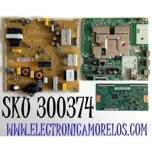 KIT DE TARJETAS PARA TV LG / NUMERO DE PARTE MAIN EBU65841701 / EAX69083603 / 65841701 / FUENTE EAY65769221 / EAX69057001 / 65769221 / T-CON  260162003650 / PT500GT02-2-C-3 / PT500GT02 / PANEL NC500DQE-VHHXA / MODELO 50UN6950ZUF / 50UN6950ZUF.AUSULJM