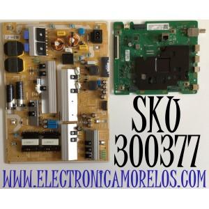 KIT DE TARJETAS PARA TV SAMSUNG / NUMERO DE PARTE MAIN BN94-15352S / BN41-02751A / BN97-16648B / FUENTE BN44-01065B / L82S6N_THS / BN4401065B / PANEL CY-BT082HGLV3H / MODELO UN82TU700 / UN82TU700DFXZA FA01