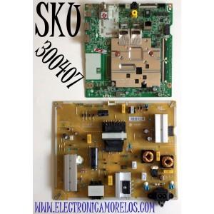 KIT DE TARJETAS PARA TV LG UHD 4K SMART / NUMERO DE PARTE MAIN EBT66516001 / EAX69109604 / EAX69109604(1.0) / FUENTE EAY65769211 / EAX69083101 / EAX69083101(1.7) / LGP65T-20U1 / EPCD16CA1A / PANEL NC650DQH-ABHX1 / MODELO 65UN8500PUI / 65UN8500PUI.BUSFLKR