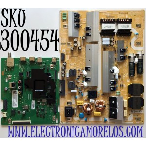 KIT DE TARJETAS PARA TV SAMSUNG MAIN BN94-15770C / BN41-02756C / BN97-16917Y / FUENTE BN44-01065B / L82S6N_THS / BN4401065B/ PANEL CY-BT085HGHV1H / MODELO UN85TU800DFXZA CA01