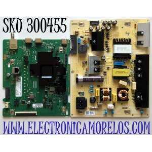 KIT DE TARJETAS PARA TV SAMSUNG MAIN BN94-16107X / BN41-02756C / BN97-17444Q / FUENTE BN44-01055A / L65S6N_TDY / BN4401055A / PANEL CY-BT065HGSV1H / MODELO UN65TU7000FXZA AU06
