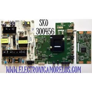 KIT DE TARJETAS PARA TV HISENSE MAIN 231565 / RSAG7.820.8252/ROH / FUENTE 222172 / RSAG7.820.7748/ROH / T-CON 34291100520G11 / ST5461D07-1-C-B / PANEL HD550S1U81-L1/S2/GM/CKD/ROH / MODELO 55R6E