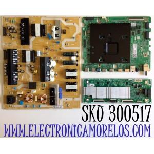 KIT DE TARJETAS PARA TV SAMSUNG / MAIN BN94-15650F / BN41-02749A / BN97-16592C / DRIVER BN44-01046C / BN4401046C / L65S8NC_THS / FUENTE BN44-01052A / BN4401052A / L65S8NA_THS / PANEL CY-TT065FMLV4H / MODELO QN65Q80 / QN65Q80TAFXZA / QN65Q80TAFXZA FB04