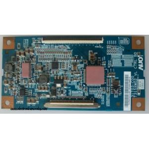 T-CON / AUO 55.26T02.C11 / 5526T02C11 / 31T03-C00 / T315XW02 VL CTRL BD / MODELO SANYO DP26648