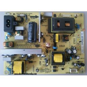 FUENTE DE PODER / TCL 81-PBL032-PW10L / PLC88P-2A / PLC88P / CCP-508 / PANEL LVW320CS0TC1 V0 / MODELO ¨32¨