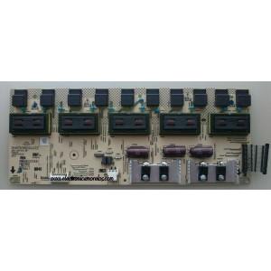 BACKLIGHT INVERSOR / SHARP RUNTKA501WJZZ / DAC-60T015 BF / 2995319100 / MODELO LC-C4655U MASTER