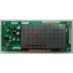 DRIVER PARA T-CON / PROSCAN 121698 / RSAG7.820.1851/ROH / LTDN55T57XUS / PANEL´S LC420WUD (SB)(M1) / LC550WUD (SB)(M1) / LC550WUD (SB)(M3) / MODELOS 55LC55S240V69 / 42LC55S240V87 / 47LC55S240V87 / 42LA55RS / 47LA55RS / 55LA55RS