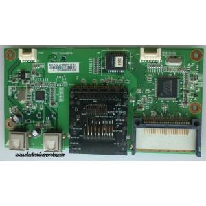 TARJETA DIGITAL PARA USB Y MEMORIA / DELL 81SVAA01624 / 6832166000P01 / PTB-1660 / MODELO 3007WFPT