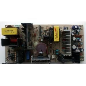 FUENTE DE PODER / LG 3141VPN120A / 6870VS2222A(0) / SC-02V-1 / MB-042H / 6870VS2222A / MODELO RU-44SZ63D