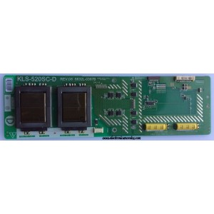 BACKLIGHT INVERSOR / VIZIO 6632L-0397B / 1397B / KLS-520SC-D / MODELO GV52LFHDTV10A