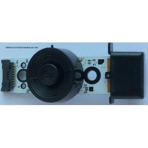 BOTONERA PARA TV / SAMSUNG BN96-26411M / BN41-01976B / MODELO UN50F5500AFXZA NH04