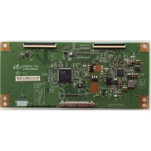 T-CON / TCL 3E-D085738 / V500HJ1-CE6 / MODELO LE50FHDF3010TATBAA