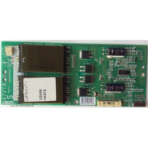 BACKLIGHT INVERSOR / VIZIO 6632L-0487A / PPW-CC47VT-S (A) / 6632L-0487A-S / MODELO SV470XVT1A LPPCEAK