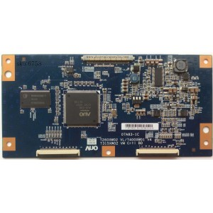 T-CON / 1-857-072-11 / 5507A83001 / T260XW02 VL/T400XW01 V4 / T315XW02 VM / MODELO KDL-26M4000