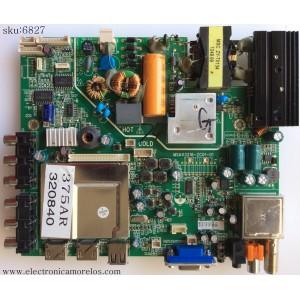 FUENTE / MAIN / PIONEER MSAV3216-ZC01-01 / T3.15AL 250V / VER.120626 / MODELO PLE-3202HD